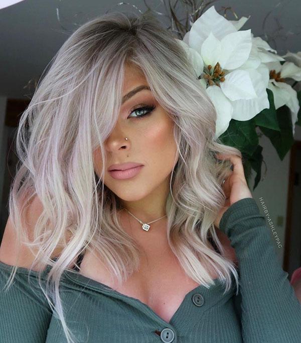 Medium Ash Hair Color