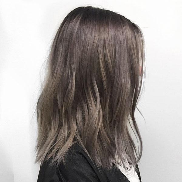 Medium Ash Hair