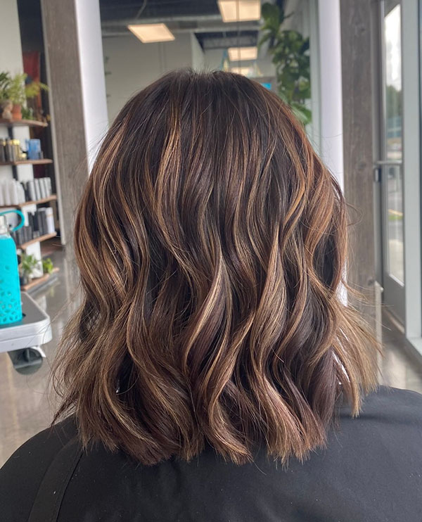 Images Of Medium Haircuts For Brunettes