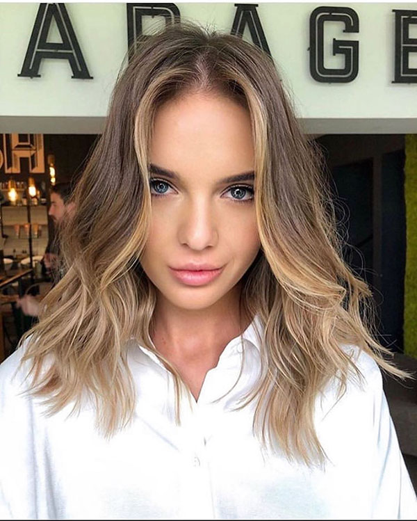 Hairstyles For Medium Ombre Hair
