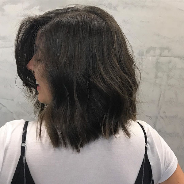 Medium Hairstyles For Brunettes