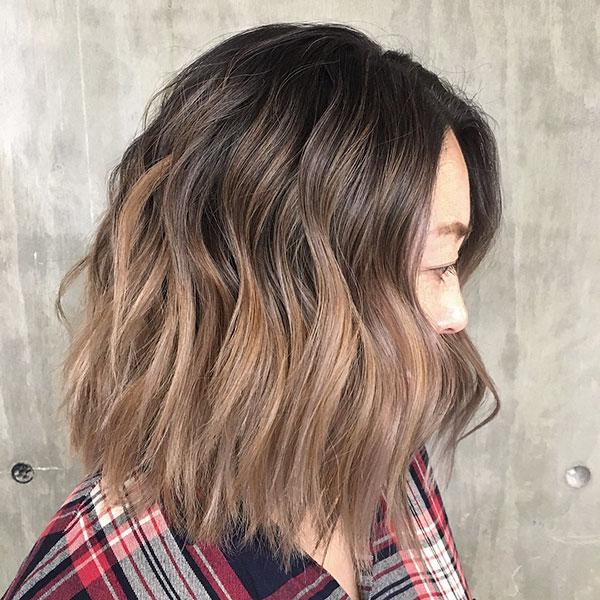 Medium Ombre Hairstyles 2020