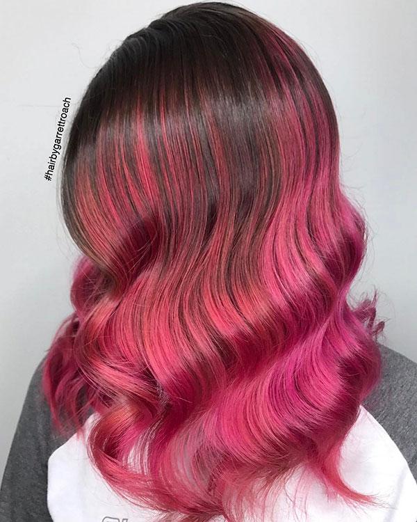 Medium Ombre Hairstyles