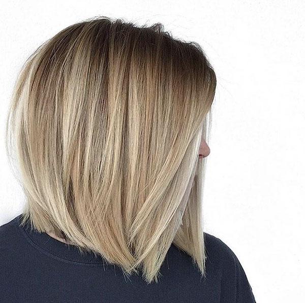 Straight Hairstyles For Medium Hair
