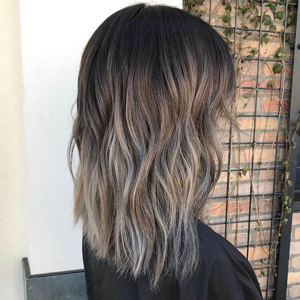 Medium Ash Hairstyle Pictures
