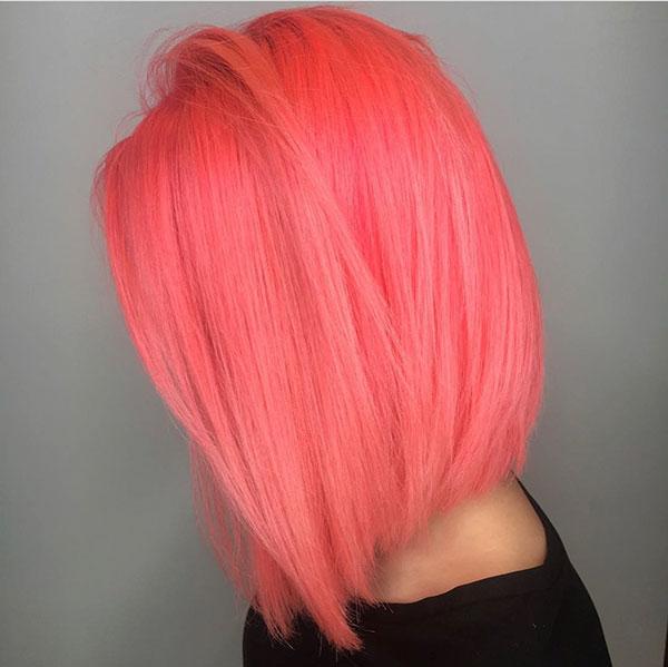 Medium Straight Hair Images
