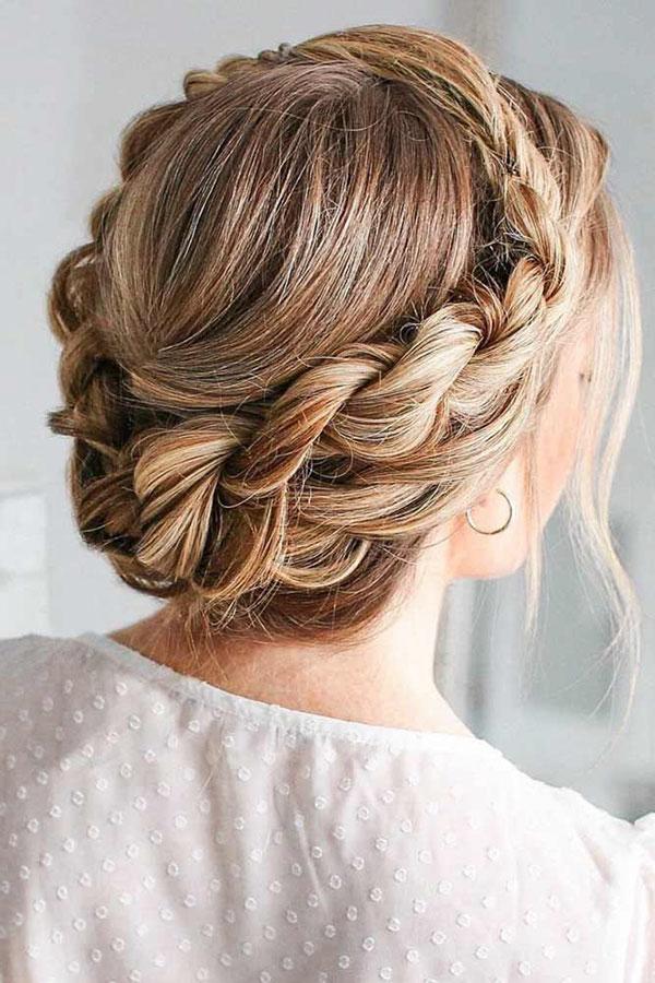Braided Cute Hairstyles For Medium Hair