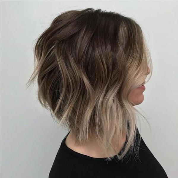 Thick Hair Medium Choppy Haircuts