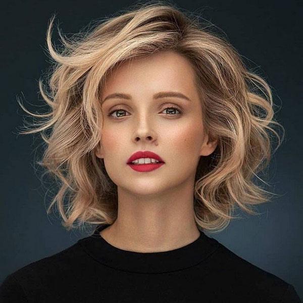 Medium Haircuts For Thick Hair 2021