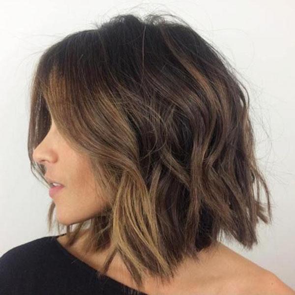 Short To Medium Haircuts For Thick Wavy Hair