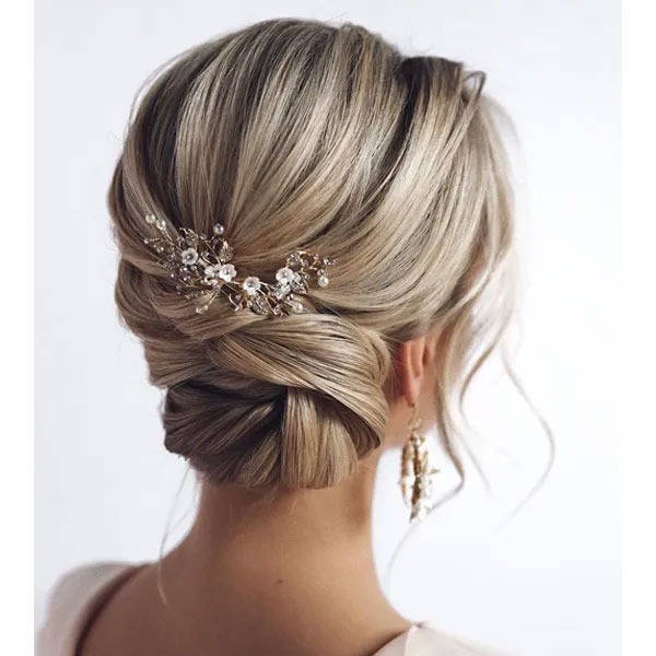 Medium Bridal Hairstyles