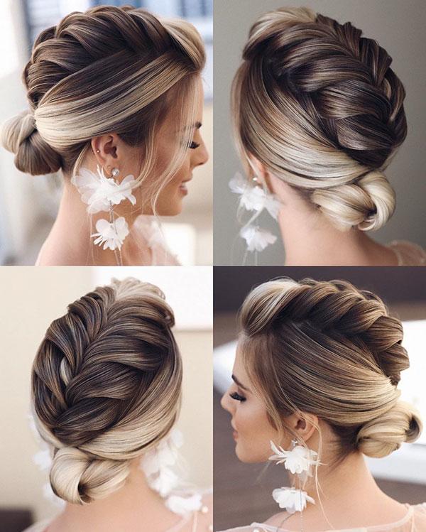 Medium Bridal Hair
