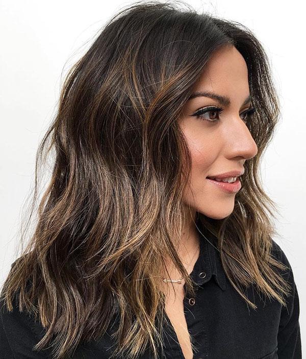 Medium Choppy Cuts For Thick Hair