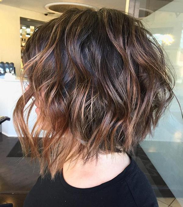 Medium Choppy Hairstyles For Thick Hair