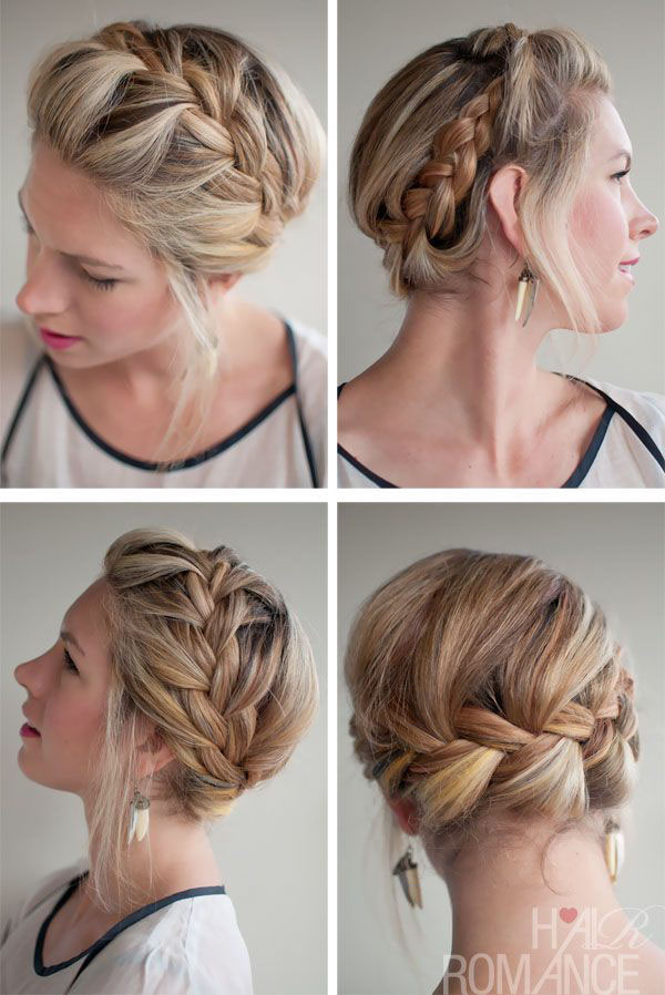 Cute Braided Hairstyles For Medium Hair