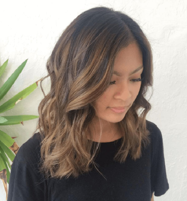 Brown Ombre For Medium Hair