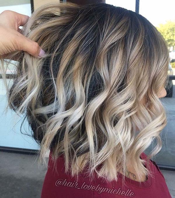Wavy Hair Styles For Medium Thick Hair