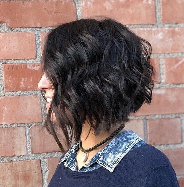 Medium Haircuts For Thick Wavy Hair