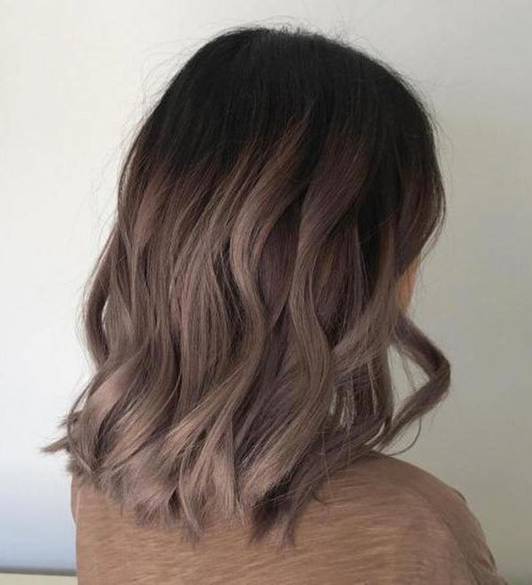 Medium Brown Hair With Ombre